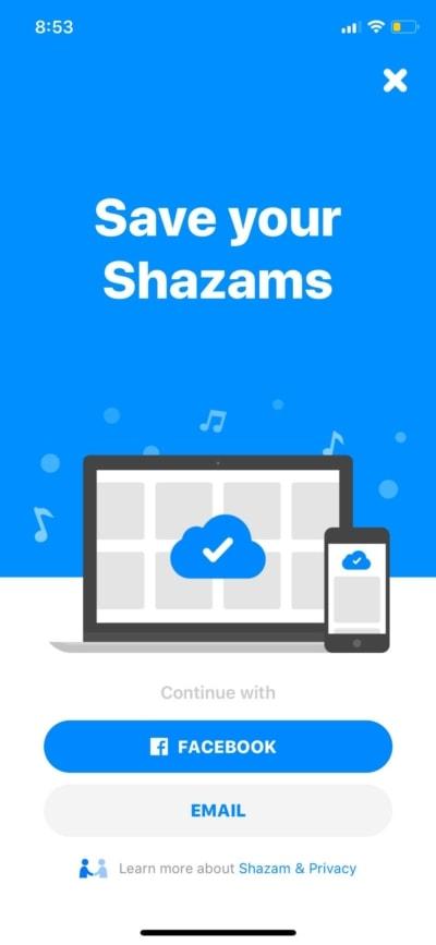 Save your Shazam on iOS by Shazam from UIGarage