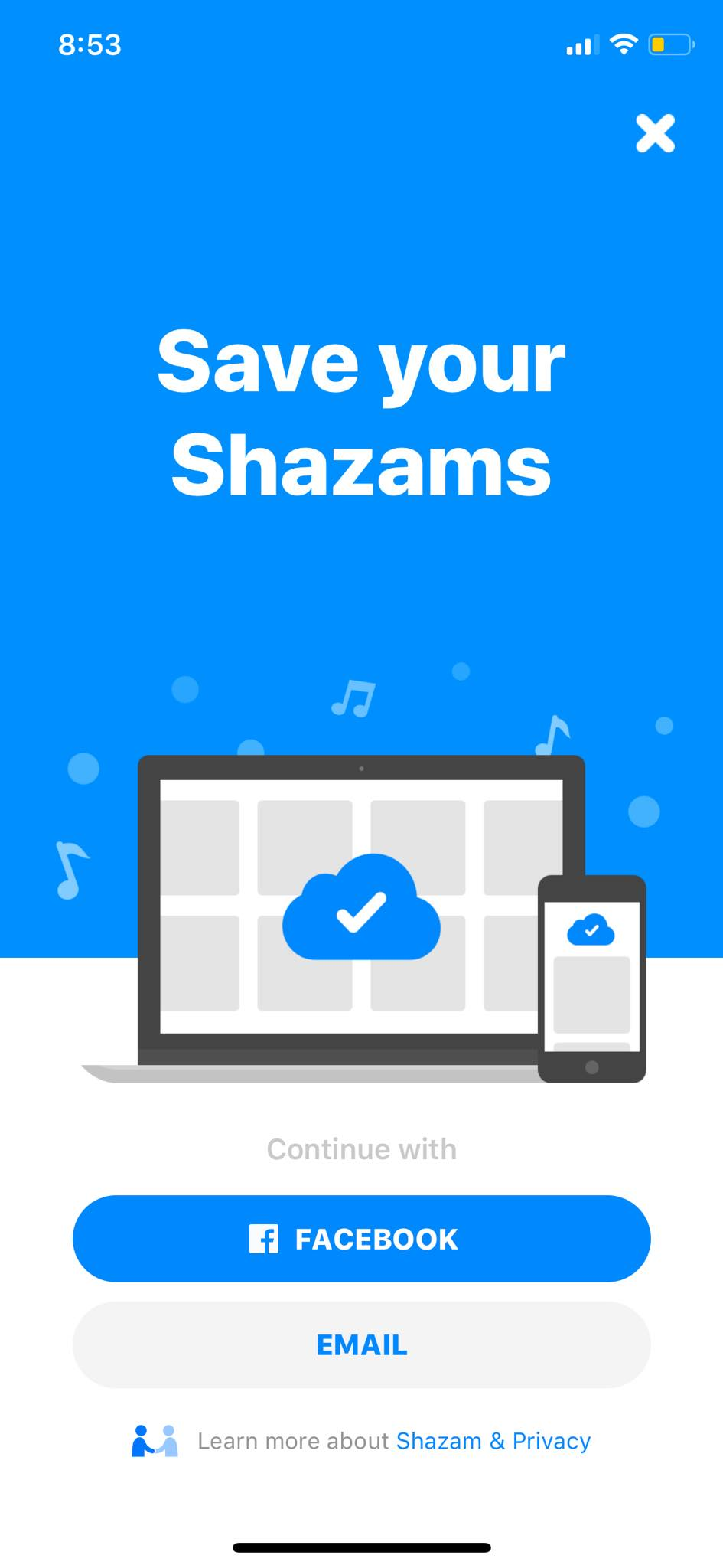 Save your Shazam on iOS by Shazam from UIGarage