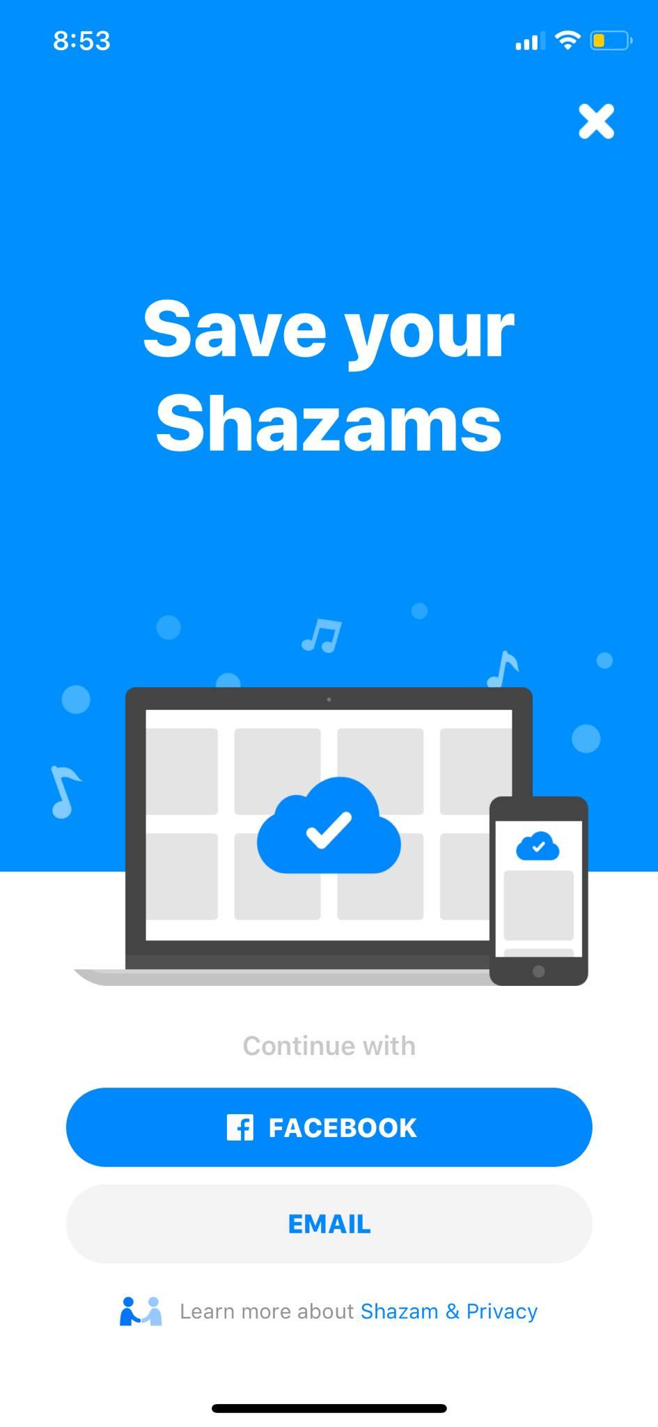 Save your Shazam on iOS by Shazam