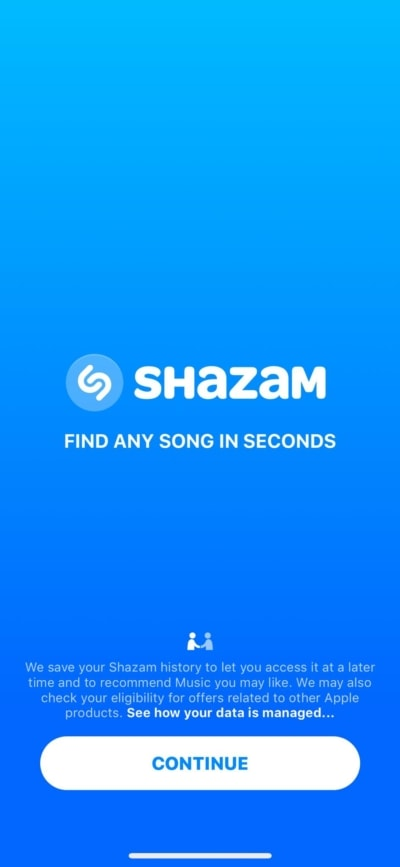 Walkthrough on iOS by Shazam from UIGarage