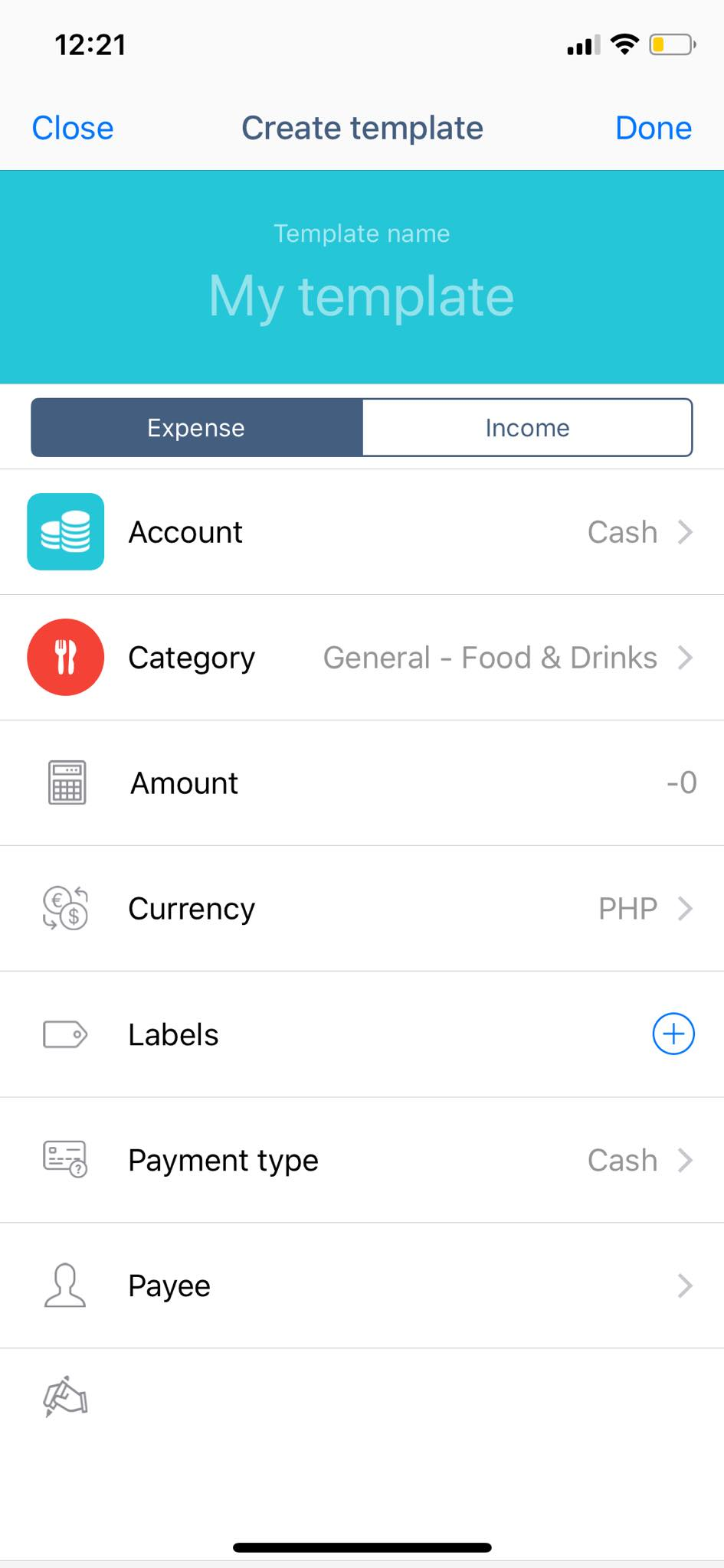Create Template on iOS by Wallet from UIGarage