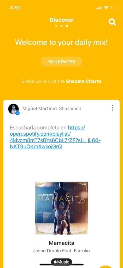 Discover on iOS by Shazam from UIGarage