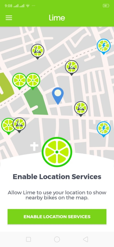 Enable Location Services on Android by Lime from UIGarage