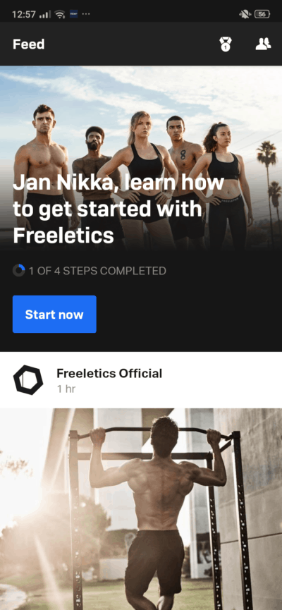 Feed on Android by Freeletics from UIGarage