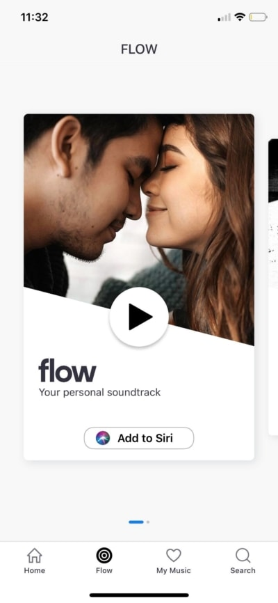 Flow on iOS by Deezer from UIGarage