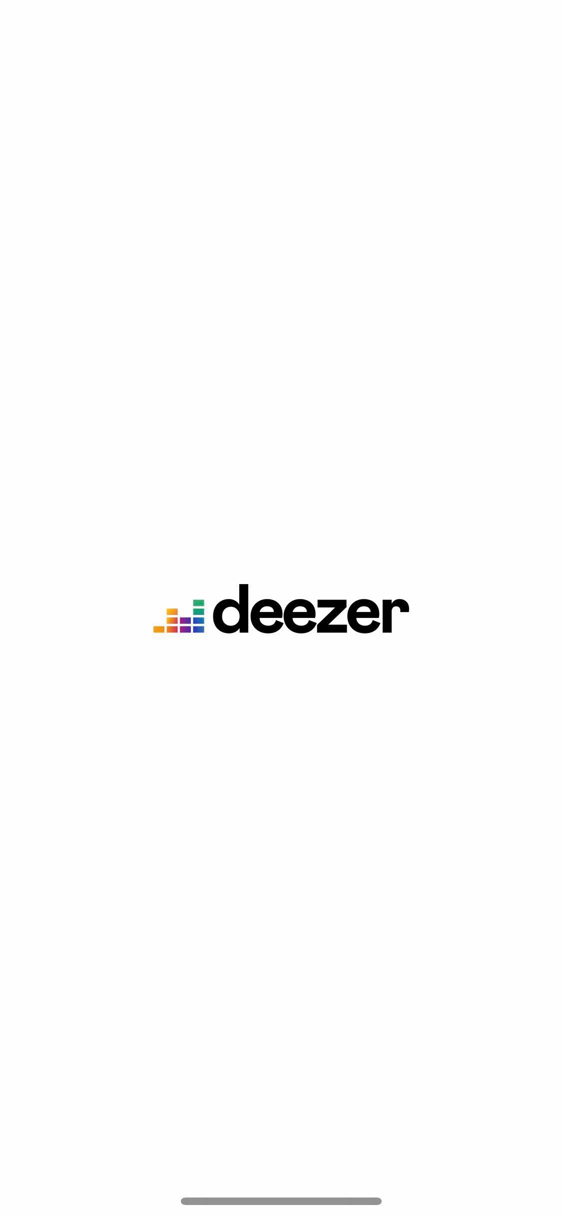 Launch Screen on iOS by Deezer from UIGarage