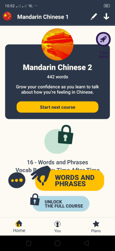 Learn Mandarin on Android by Memrise from UIGarage