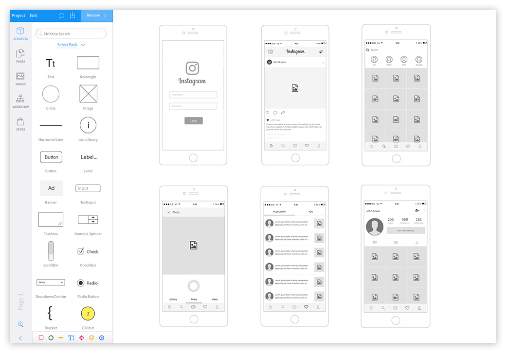 Top 10 Prototyping Tools that UX Designers Should Try from UIGarage