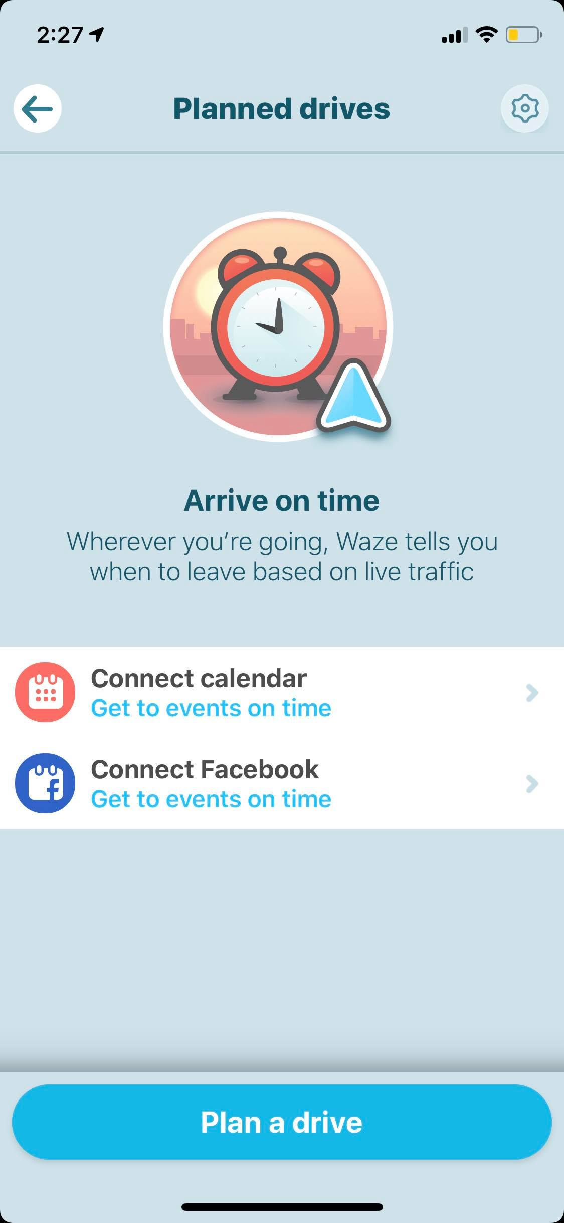 Onboarding on iOS by Waze from UIGarage