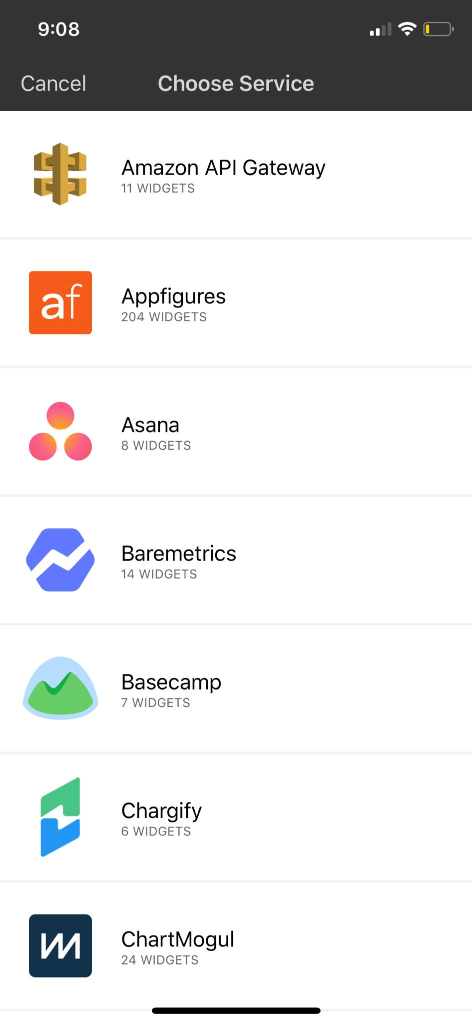Service on iOS by Numerics from UIGarage