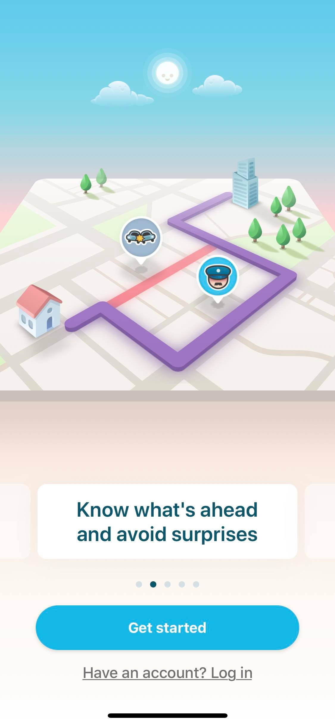 Walkthrough on iOS by Waze from UIGarage