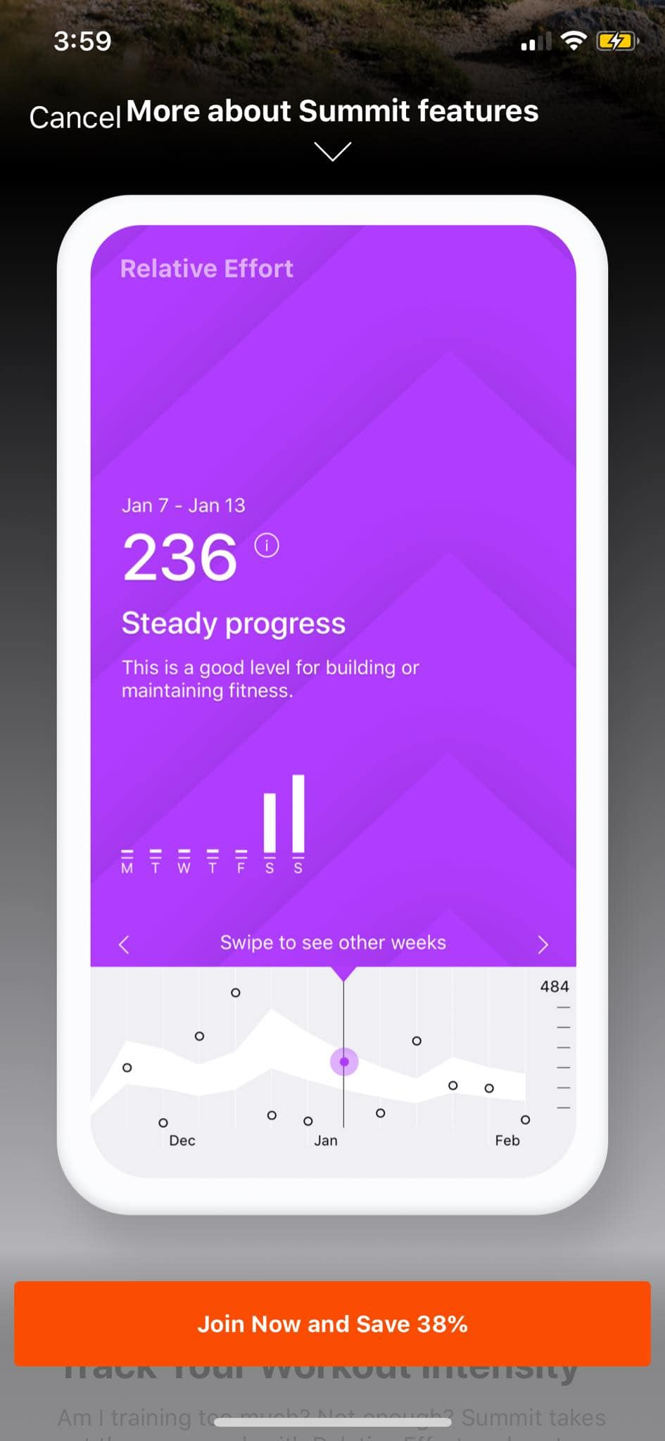 Walkthrough on iOS by Strava from UIGarage