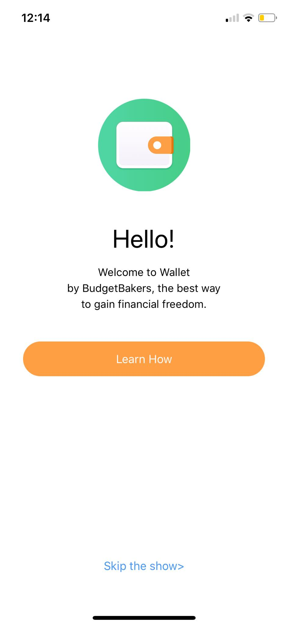 Welcome on iOS by Wallet from UIGarage
