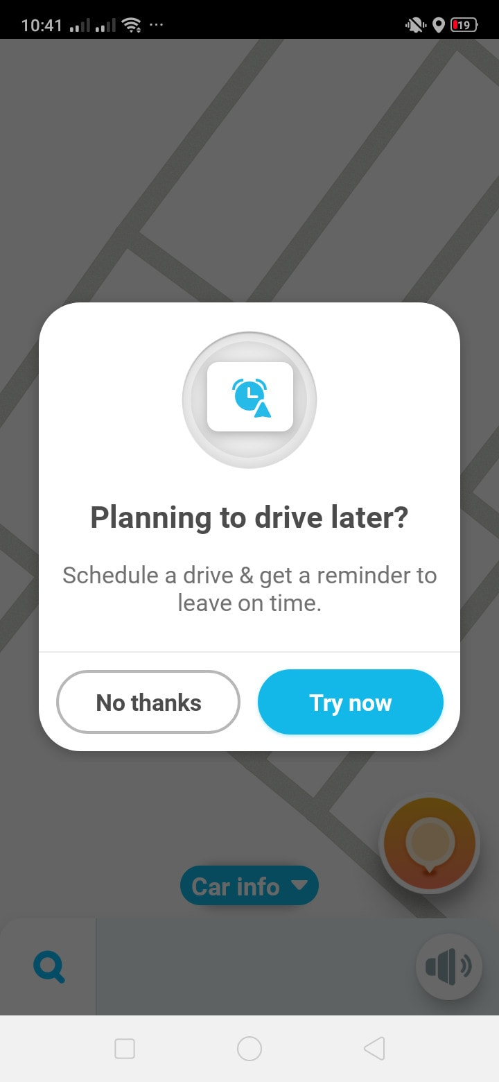 Ask Permission on Android by Waze from UIGarage