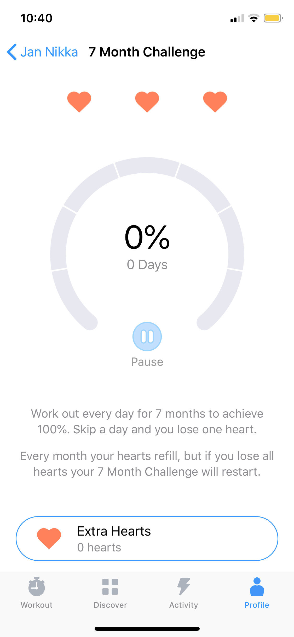 7 Month Challenge on iOS by Seven from UIGarage