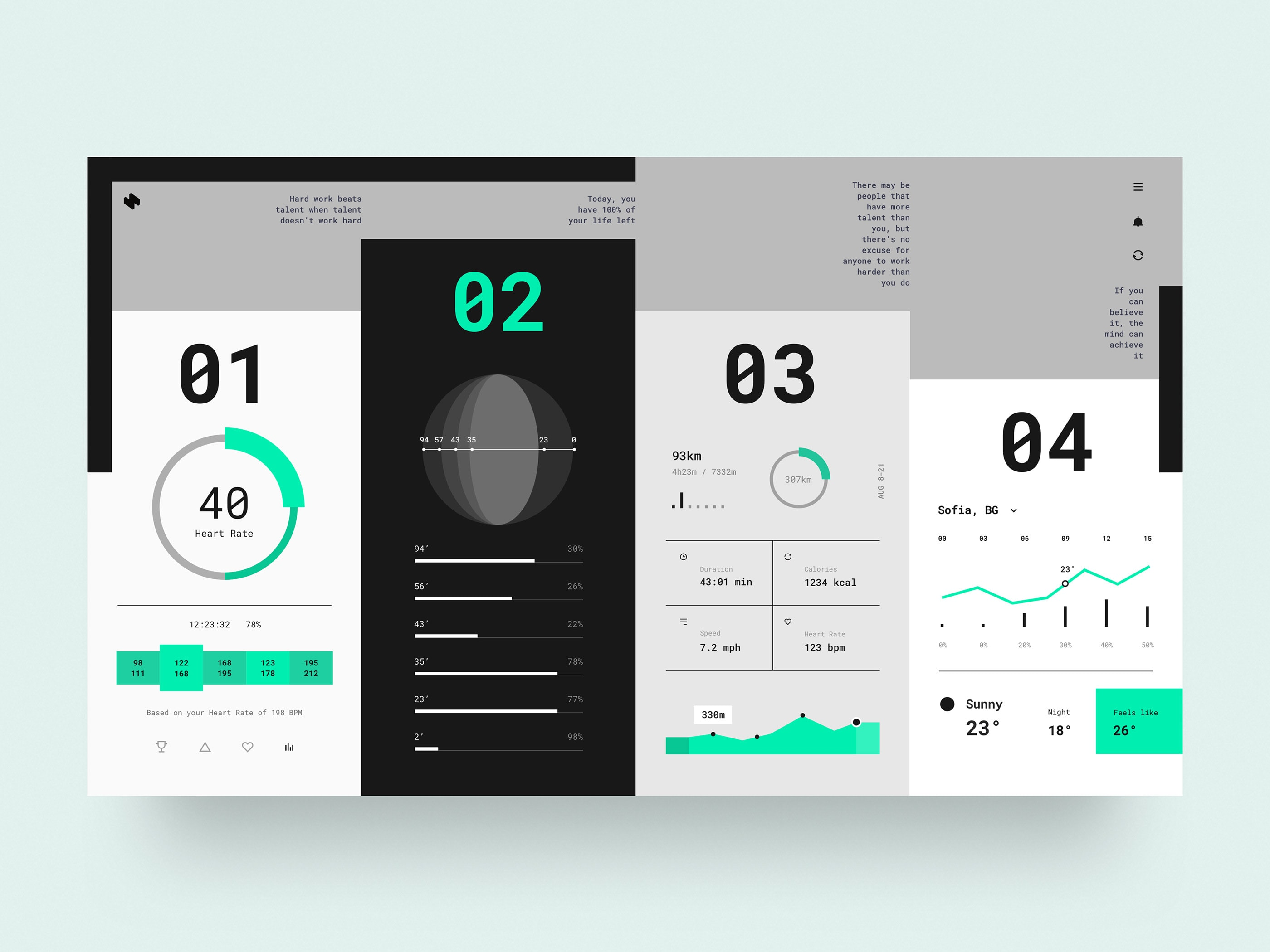 HeaderZ - Free UI Kit from UIGarage