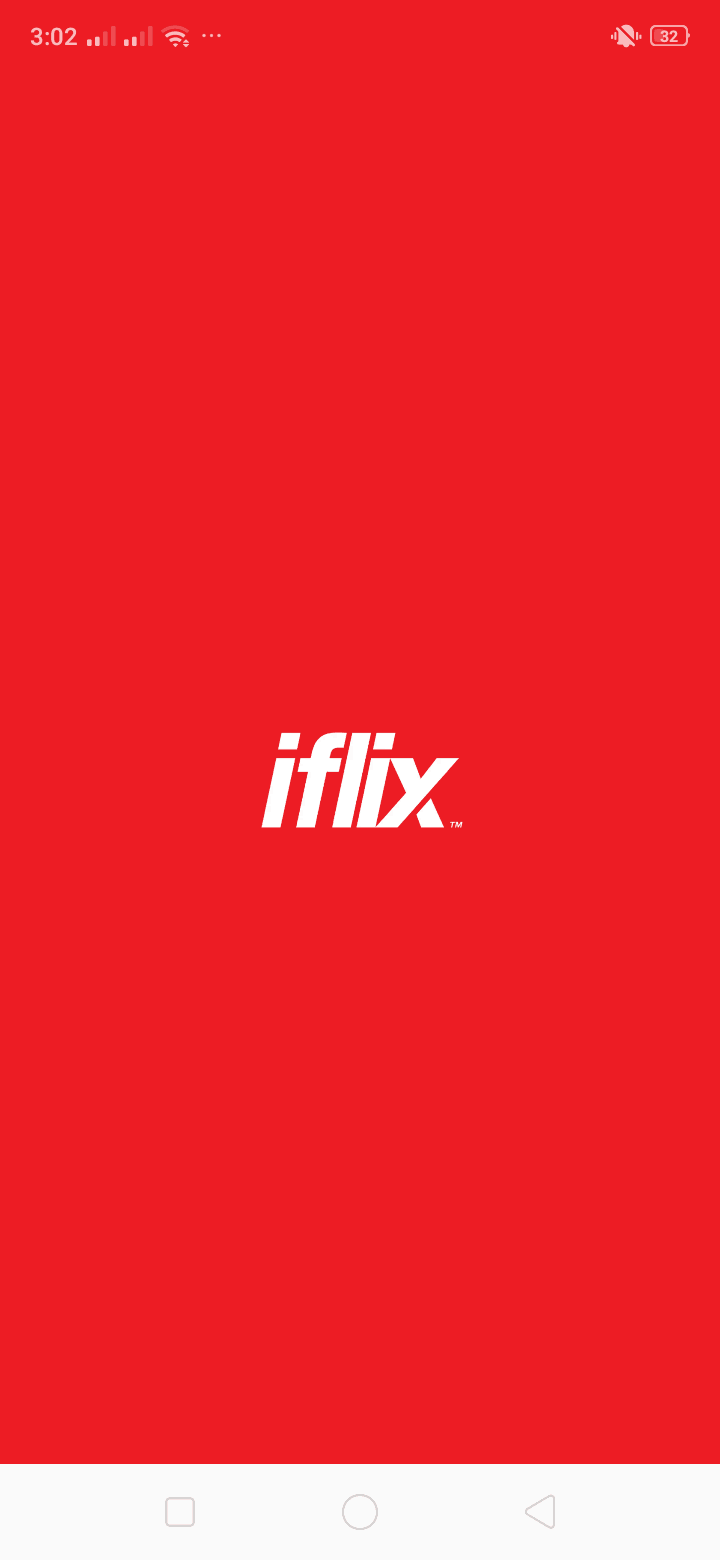 Launch Screen on Android by iFlix from UIGarage
