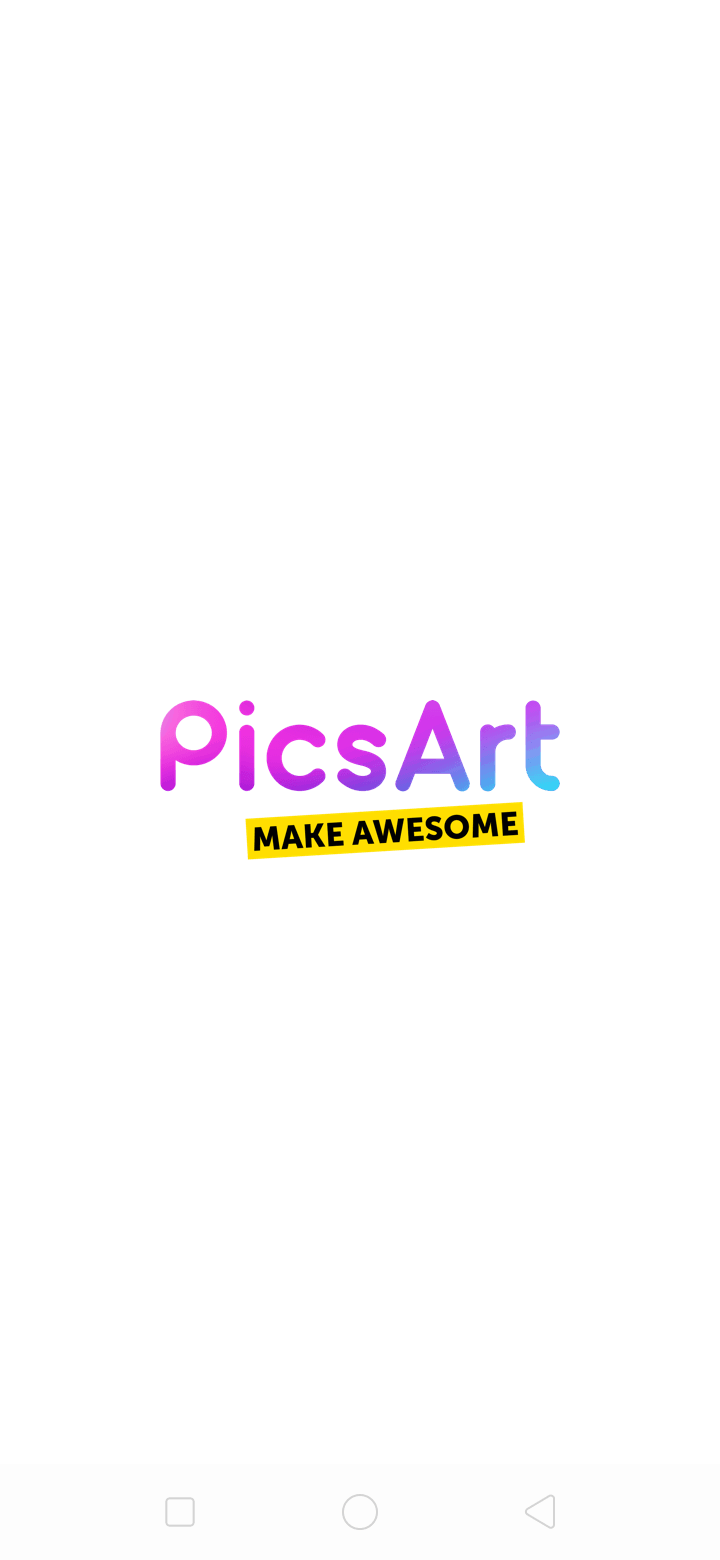 Launch Screen on Android by PicsArt from UIGarage