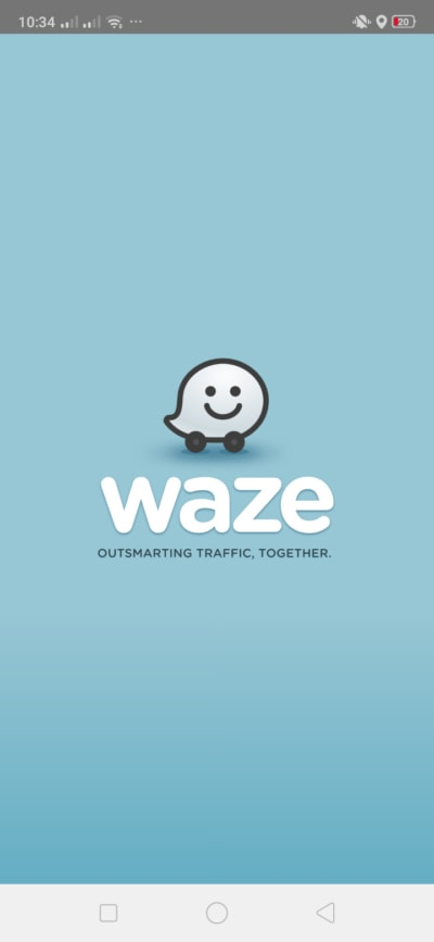 Launch Screen on Android by Waze from UIGarage