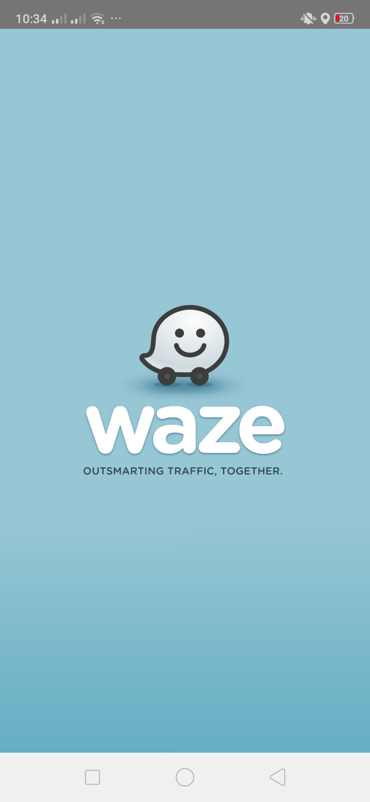 Launch Screen on Android by Waze