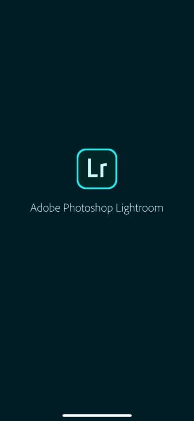 Launch Screen on iOS by Adobe Lightroom from UIGarage