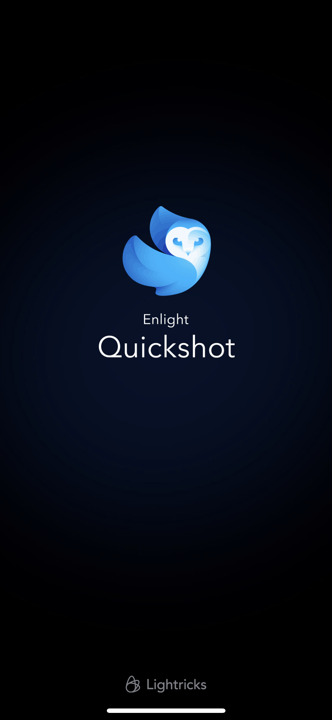 Launch Screen on iOS by Quickshot from UIGarage