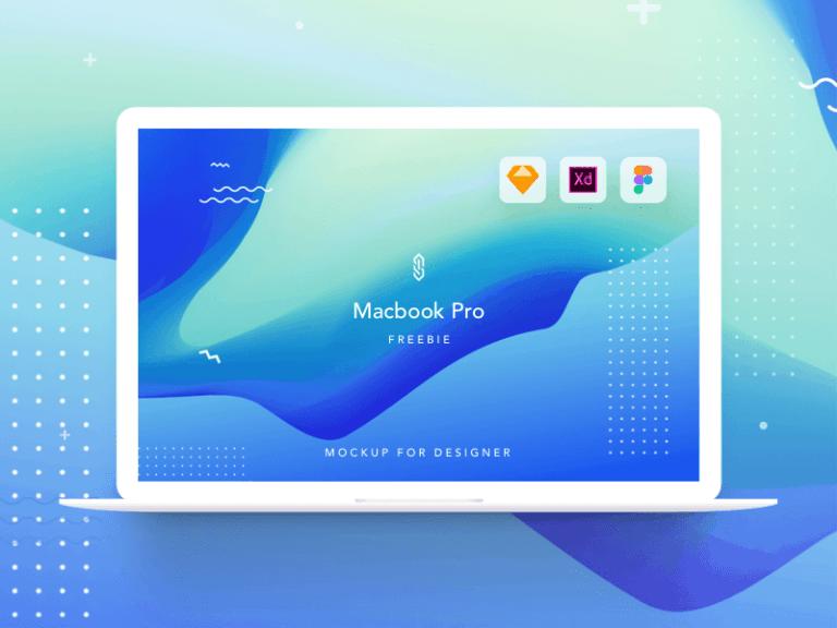 Macbook Pro Mockup from UIGarage