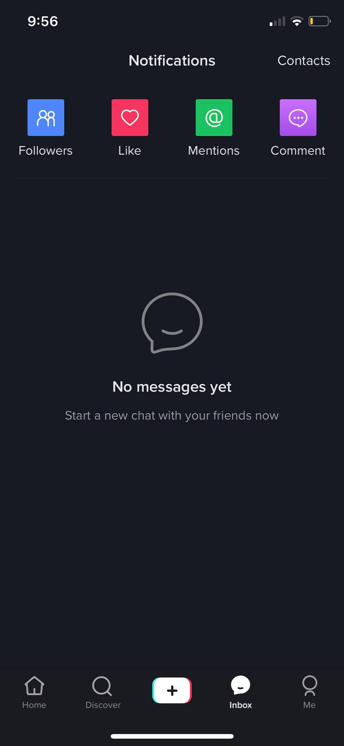 Messages on iOS by Tiktok
