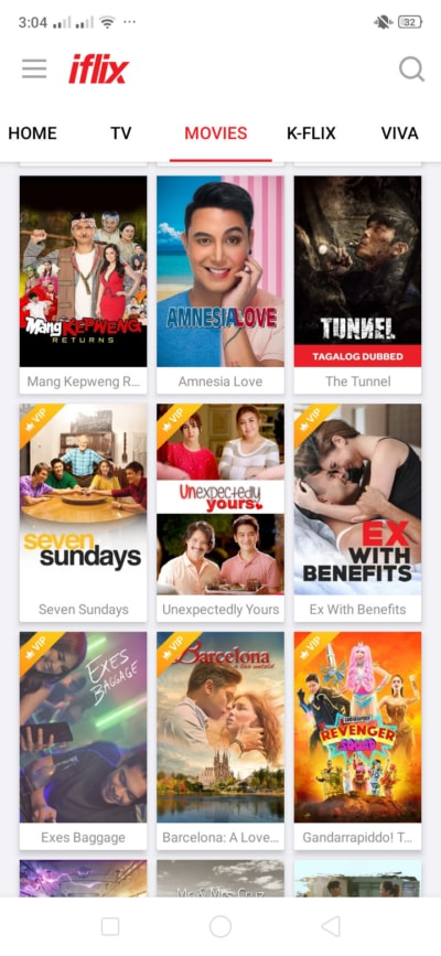 Movies on Android by iFlix from UIGarage