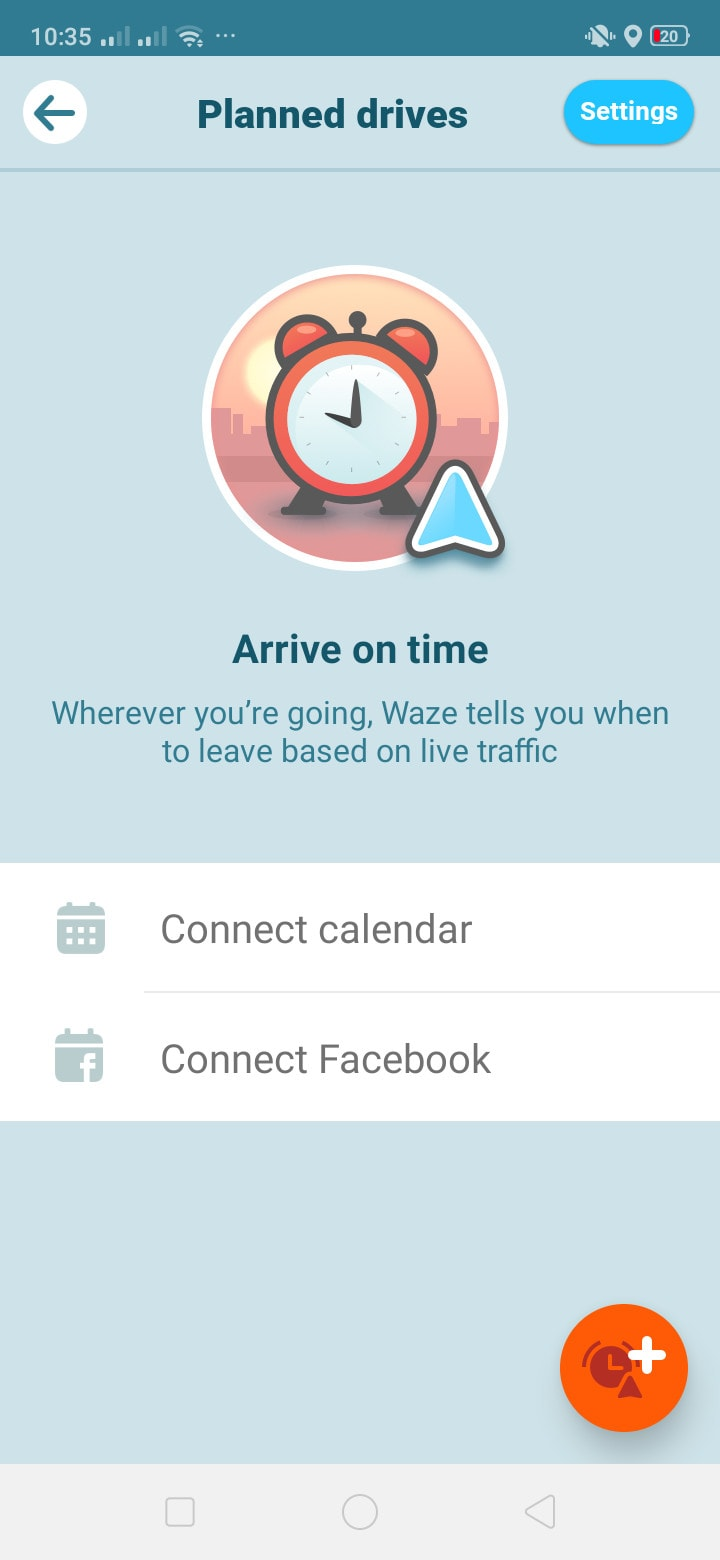 Planned Drives on Android by Waze from UIGarage