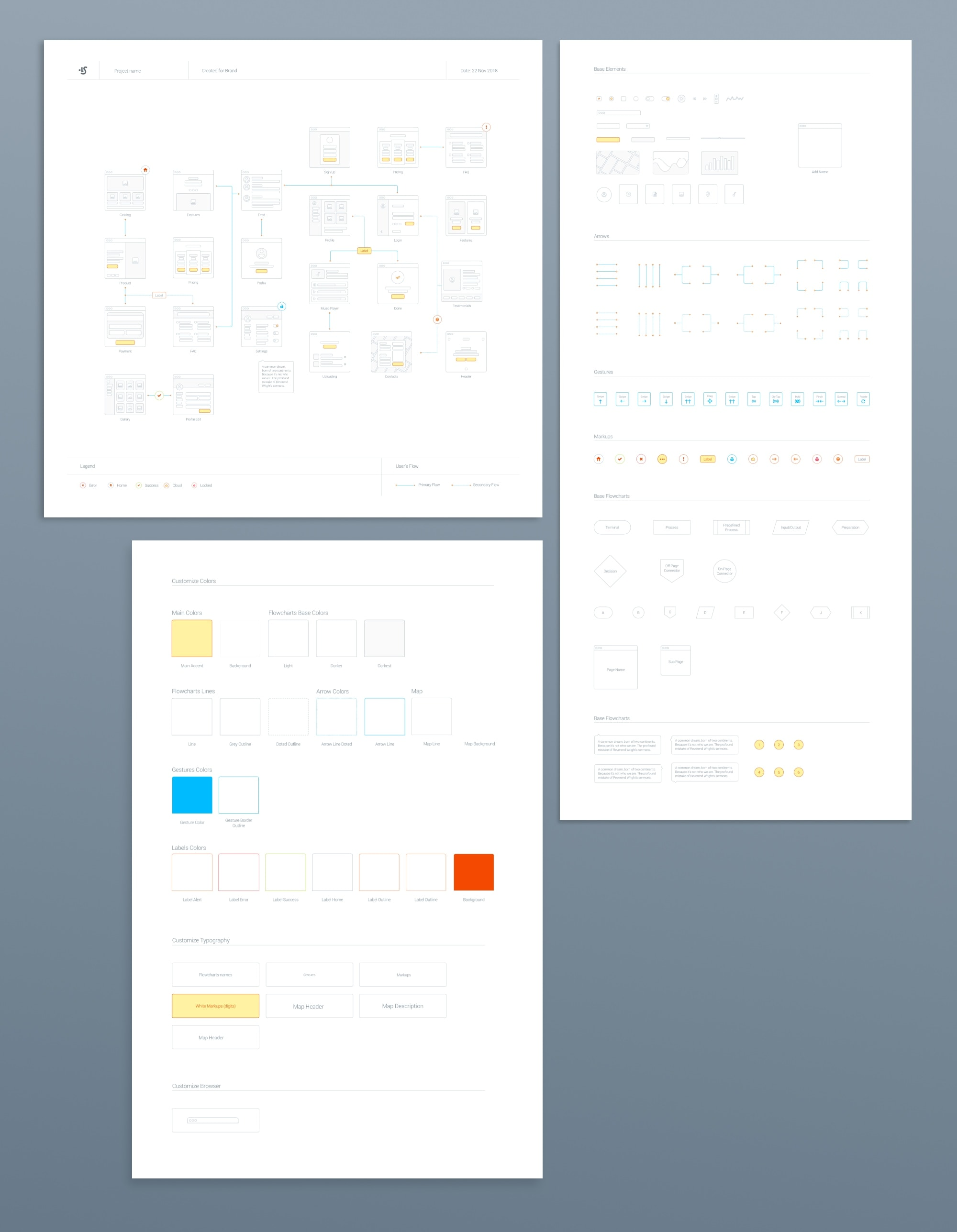 Wireframe Prototyping System from UIGarage