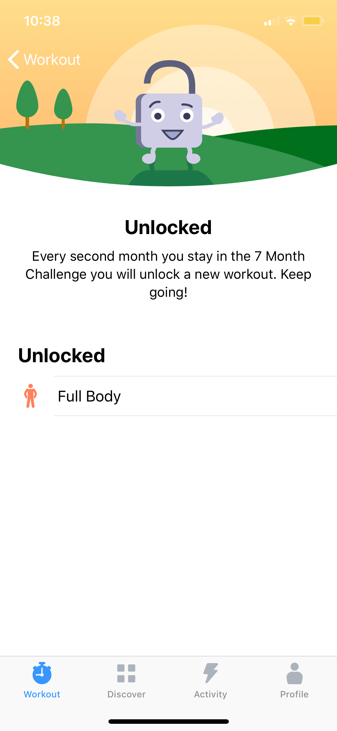 Unlocked on iOS by Seven from UIGarage
