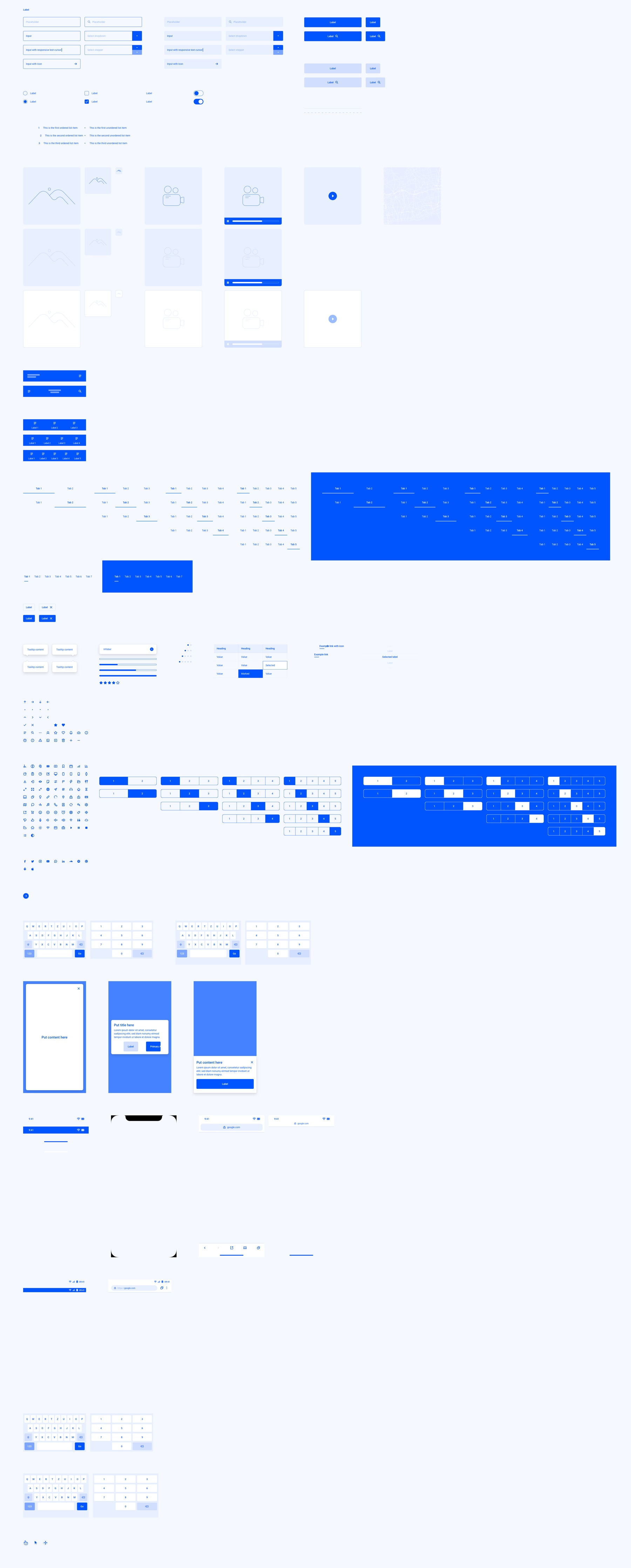Wild Wireframe Kit for Sketch from UIGarage