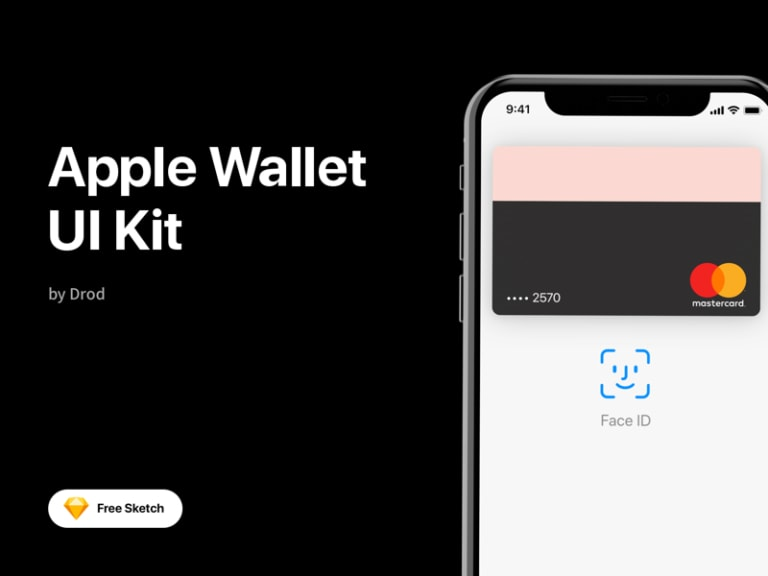 Apple Wallet Free UI Kit for Sketch from UIGarage