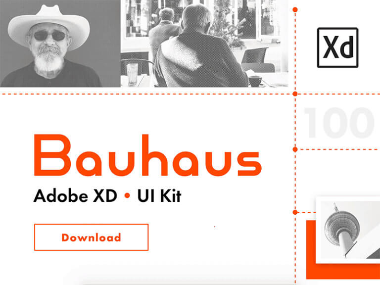 Bauhaus UI Kit for Adobe XD from UIGarage