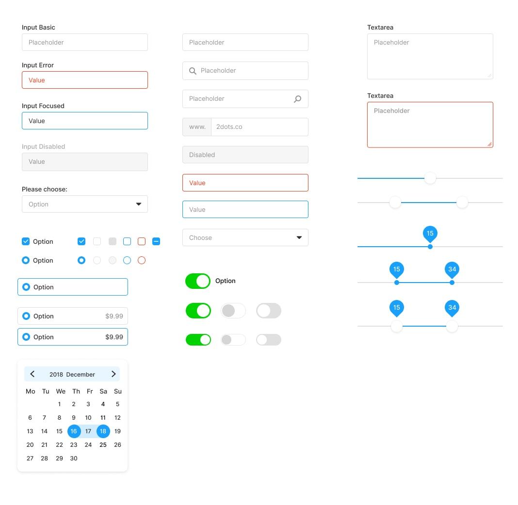 Figma Starter Kit - Download Free UI Kit
