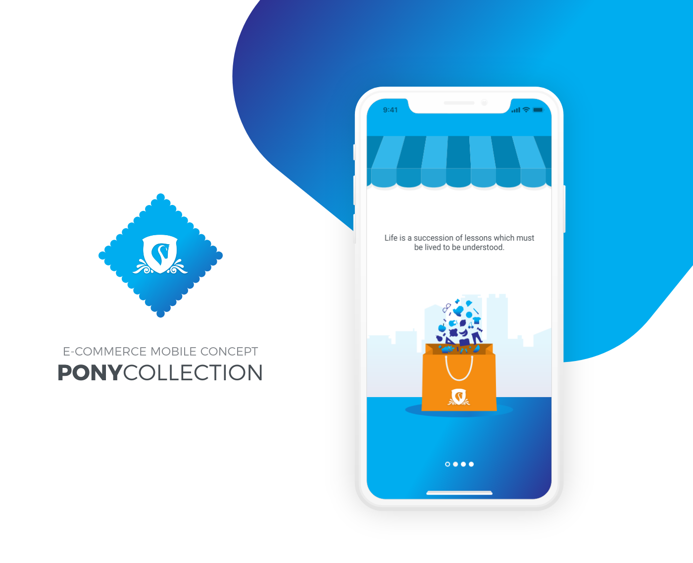 Pony Collection - eCommerce Mobile App from UIGarage