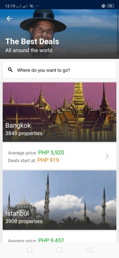 Deals on Android by Booking.com from UIGarage