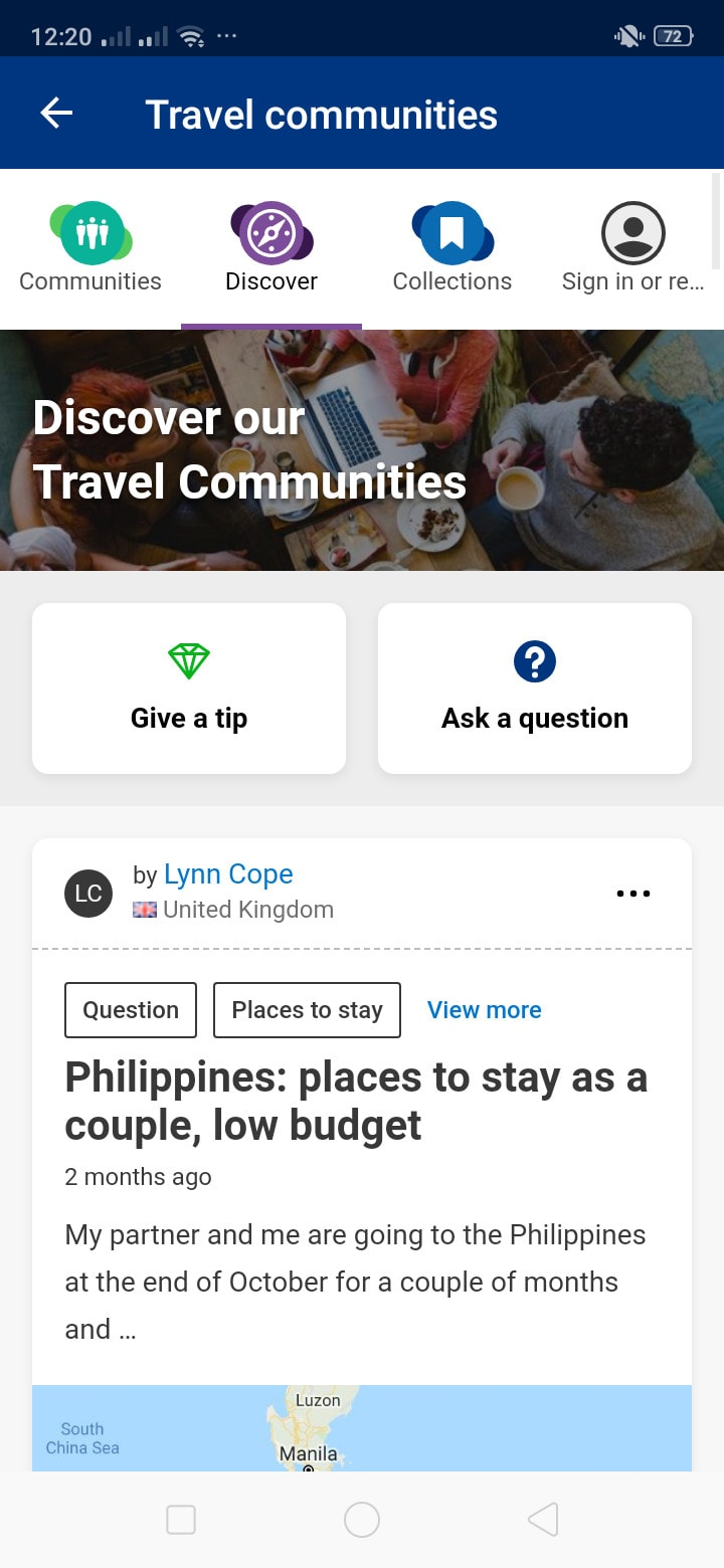 Discover on Android by Booking.com