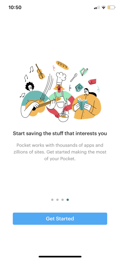 Get Started on iOS by Pocket from UIGarage