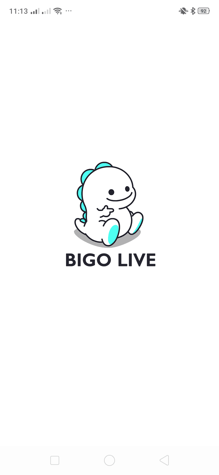 Launch Screen on Android by Bigo Live