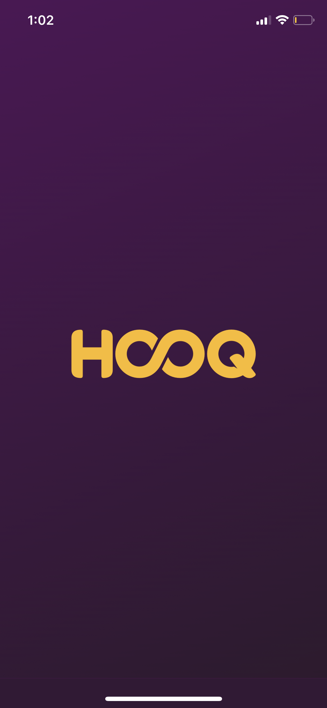Launch Screen on iOS by Hooq from UIGarage