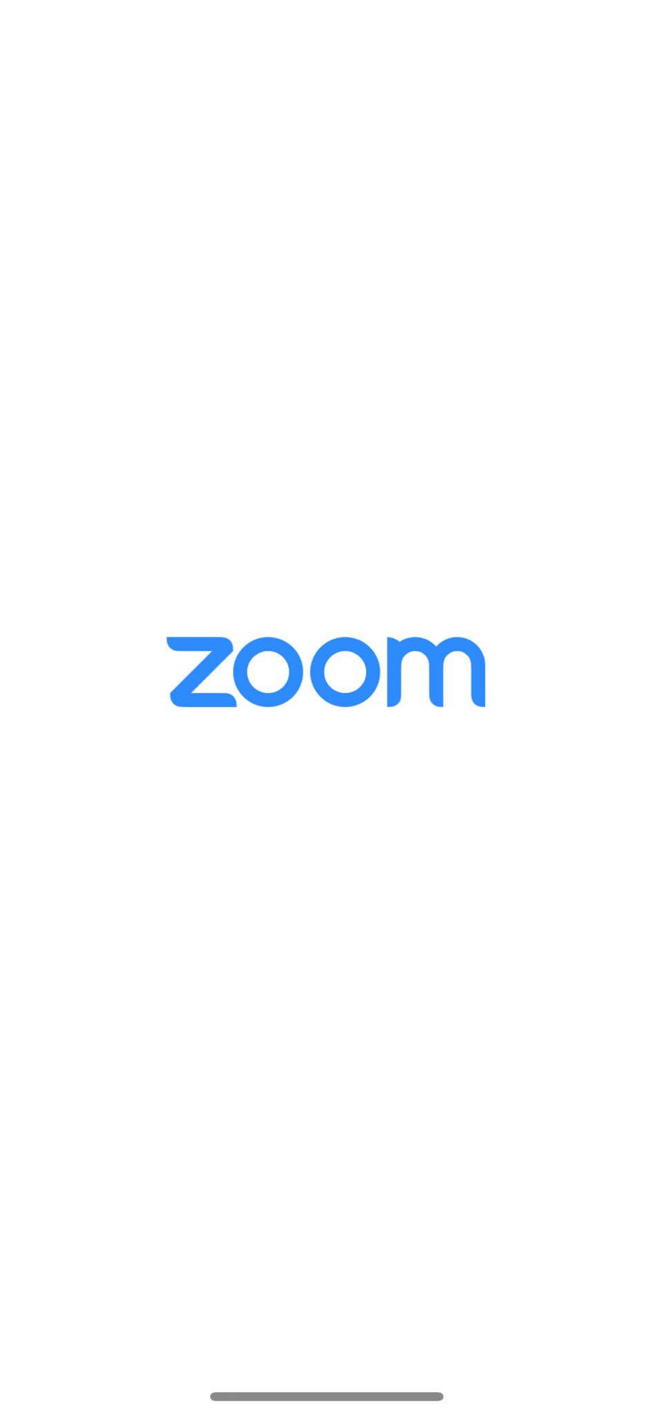 Launch Screen on iOS by Zoom