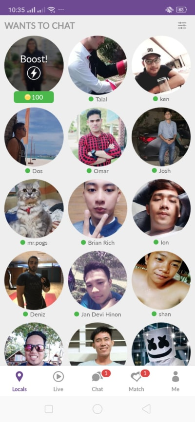 Locals on Android by Meet Me from UIGarage