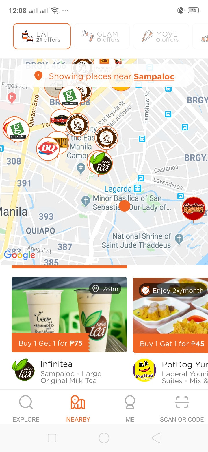 Maps on Android by Booky from UIGarage