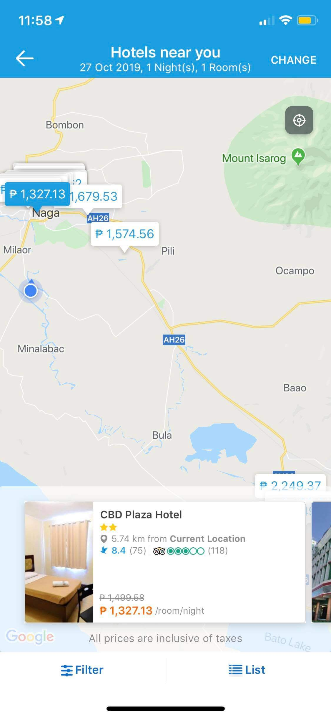 Maps on iOS by Traveloka from UIGarage