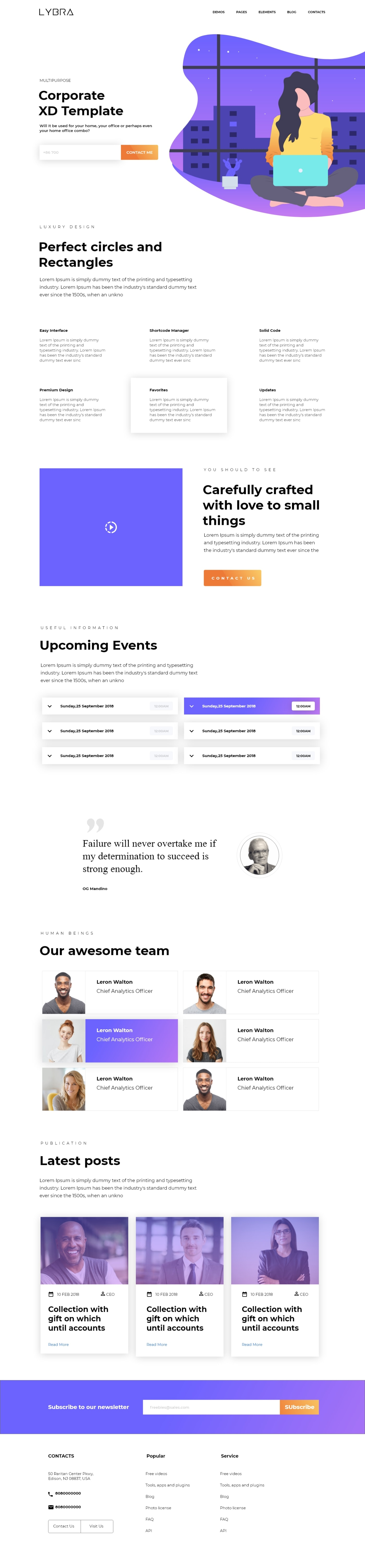 Multipurpose Theme from UIGarage