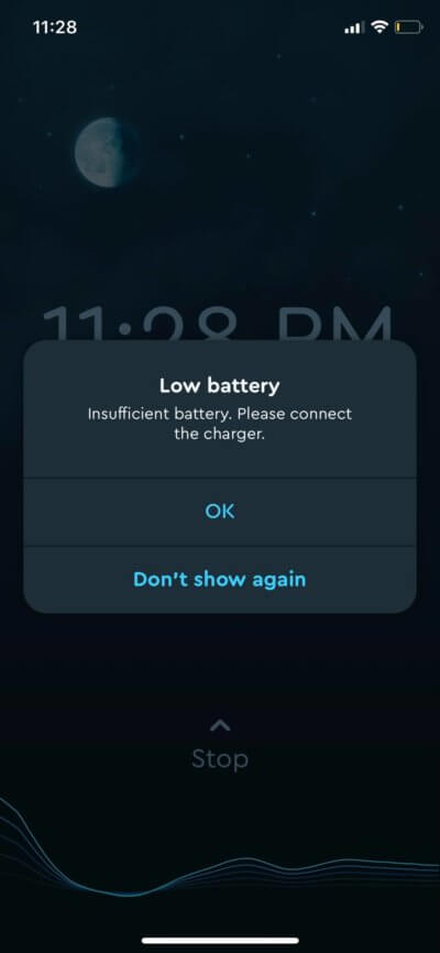 Alerts on iOS by Sleep Cycle from UIGarage