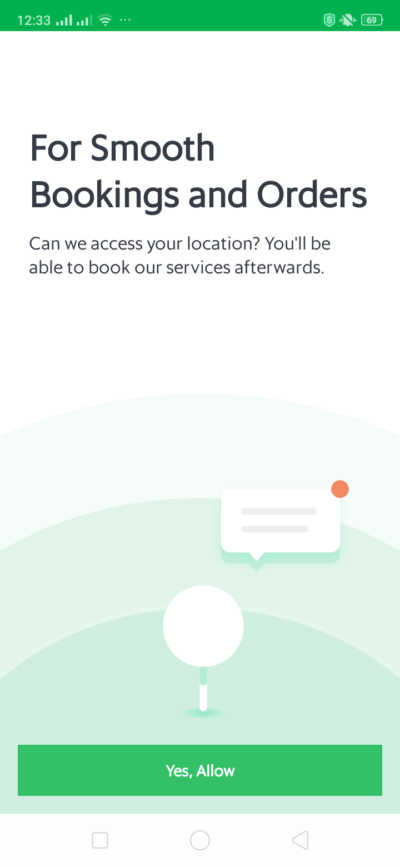 Ask Permission on Android by Grab from UIGarage