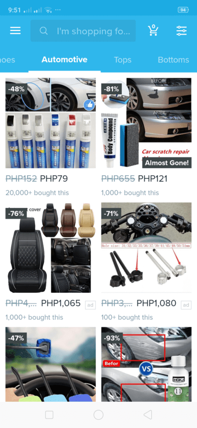 Automotive on Android by Wish from UIGarage